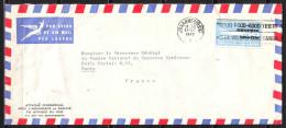SOUTH AFRICA   Lettre De  JOHANNESBURG   Le 22 VII 1960  Timbre  SEUL Sur LETTRE Pour PARIS   Par Avion - Afrique Du Sud (1961-...)