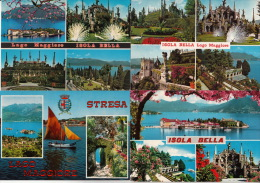 Lago Maggiore - Isola Bella - Alla Rinfusa 10 Cartoline / Lot De 10 Cartes Postales - Cartes Postales