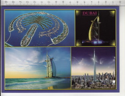 Dubai - Palm Islands / Burj-al-Arab / Burj Khalifa - Emirats Arabes Unis