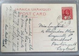 Postcard Sent From British Honduras To England 1904 - Belize