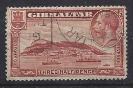 Gibraltar  1931  KG V  (o) Mi.97 A  (p 14 - K 14) - Gibraltar