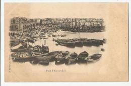 CPA Egypte - Port D'Alexandrie - Alexandrie
