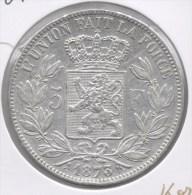 LEOPOLD II * 5 Frank 1873  PROTEGE Kort * Prachtig * Nr 7356 - 09. 5 Francs