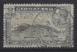 Gibraltar  1931  KG V  (o)  Mi.98 B  (p 13 1/2 X 14 - K 13.5 X14) - Gibraltar