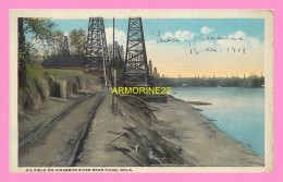 CPA  OLD FIELD ON CIMARRON RIVER NEAR TULSA OKLA - Etats-Unis