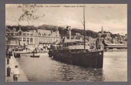 TROUVILLE -- Le '' Trouville '' -- Départ Pour Le Havre . - Trouville