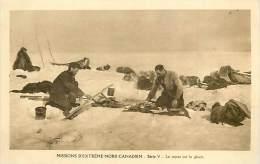 Réf : D-15-2082 :  MISSIONS EXTREME NORD CANADIEN CHIENS DE TRAINEAUX - Territoires Du Nord-Ouest