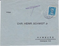 DR Weimar Mi 393 VS Fremdentwertung Amsterdam NL 1928 - Storia Postale