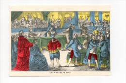 IMAGERIE PELLERIN EPINAL  LA NUIT DU 4 AOUT LES GRANDES JOURNEES DE LA REVOLUTION FRANCAISE - Historia