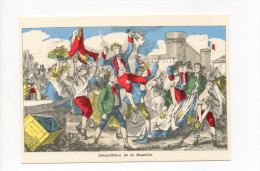 IMAGERIE PELLERIN EPINAL  DEMOLITION DE LA BASTILLE    LES GRANDES JOURNEES DE LA REVOLUTION FRANCAISE - Historia