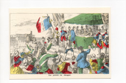 IMAGERIE PELLERIN EPINAL  LA PATRIE EN DANGER   LES GRANDES JOURNEES DE LA REVOLUTION FRANCAISE - Historia