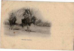 Carte Postale Ancienne De ALGERIE - CHAMEAUX ALGERIENS - Scènes & Types