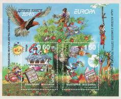 29-426 // BG - 2010 -  EUROPA - KIDS BOOKS  -  BLOCK ** - Bulgarie