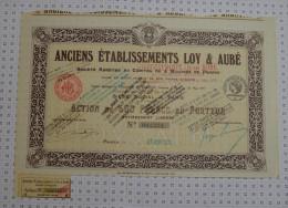 Anciens Ets Loy Et Aubé - Industrie