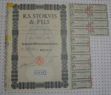 RS Stokvis Et Fils à Paris - Industrie
