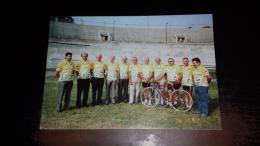 C-38728 ASSOCIAZIONE PIEMONTESE CORRIDORI CICLISTI PIERO GHIBAUDO ITALO ZILIOLI TINO COLETTO WALTER MARTINI ANTONIO COVO - Cycling