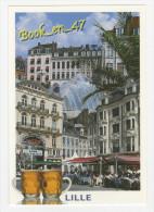 {71634} 59 Nord Lille , Multivues ; Enseigne La Chicorée , Brasserie Lilloise Alcide , Galerie Eurodif , Chope - Lille