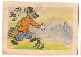 """Image N° 85 De L´album """"Les Fables De La Fontaine"""". Volume 1. 1951. Chocolat Menier. Signé Erik - Menier"""