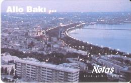 TARJETA DE AZERBAIYAN DE ALLO BAKI ... DE NETAS - 140 UNITS - Azerbaiyan