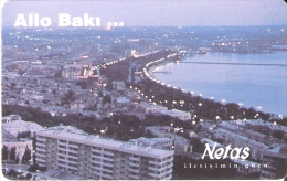 TARJETA DE AZERBAIYAN DE ALLO BAKI ... DE NETAS - 140 UNITS - Azerbaïjan
