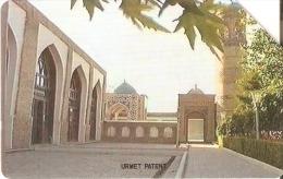 TARJETA DE UZBEKISTAN DE 25 UNITS  DE UN MONUMENTO - Usbekistan