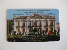 Ivo Cardoso Jardim Do Palácio De Queluz Sintra Portugal Portuguese Plastic Pocket Calendar 2005 - Calendari