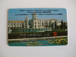 Ivo Cardoso Portugal  Portuguese Plastic Pocket Calendar 2006 - Calendriers