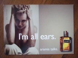 Aramis Parfum Carte Postale - Perfume Cards