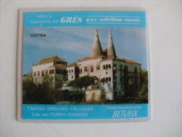 Ivo Cardoso Palácio Nacional De Sintra Portugal Portuguese Plastic Pocket Calendar 1996 - Calendari