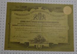 Vereeniging Rotterdansche Schouwburg à Rotterdam En 1882 - Industrie