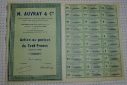 Auvray Et Cie - Industrie