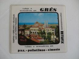 Ivo Cardoso Palácio Nacional De Sintra Portugal Portuguese Plastic Pocket Calendar 1987 - Calendari