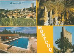MONTCUQ  LA PISCINE  VUE D'ENSEMBLE (ESP) - Montcuq
