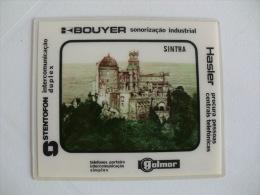 Saget Palácio Nacional Da Pena Sintra Portugal Portuguese Plastic Pocket Calendar 1982 - Calendari