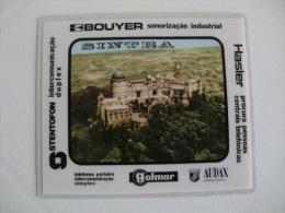 Saget Palácio Nacional Da Pena Sintra Portugal Portuguese Plastic Pocket Calendar 1983 - Calendari