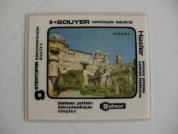 Saget Palácio Nacional Da Pena Sintra Portugal Portuguese Plastic Pocket Calendar 1988 - Calendari
