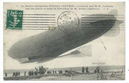 CPA BALLON DIRIGEABLE / ZEPPELIN / LE PATRIE  / AEROSTATION  1908 - Dirigibili