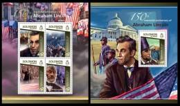 SOLOMON Isl. 2015 - Abraham Lincoln. M/S + S/S - Unclassified