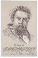 Russia Music Musique Composer Compositoire Opera Modest Mussorgsky - Music And Musicians