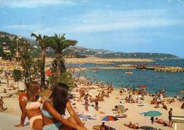 MONACO: La Plage De Larvotto (62ème Congrès D'Esperanto En Mai 1970) - Monaco