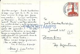 10566 BELGIUM BRUXELLES GRAND PLACE POSTAL STATIONERY POSTCARD - Belgique