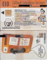 SWAZILAND(chip) - Swaziland Telecom Cardphone, First Issue E10, Chip SO3, Exp.date 3/2000, Mint - Swaziland