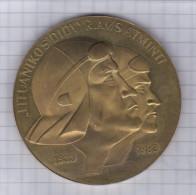 Lithuania 1983 50th Anniv. Of Flight Over The Atlantic, New York - Kaunas, Pilots Stasys Girėnas & Steponas Darius - Tokens & Medals