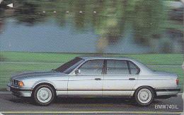 Télécarte Japon - VOITURE - BMW - CAR Japan Phonecard - AUTO Telefonkarte  / Germany - 2421 - Cars