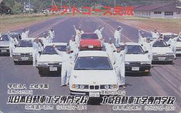 Télécarte Japon  - VOITURE - BMW - TEST COURSE - CAR Japan Phonecard - AUTO Telefonkarte  / Germany - 2427