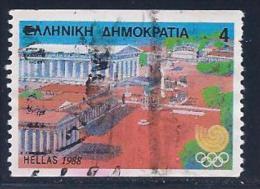 Greece, Scott # 1623a Used Olympics, 1988 - Greece