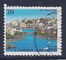 Greece, Scott # 1646 Used Harbor View, 1988 - Greece
