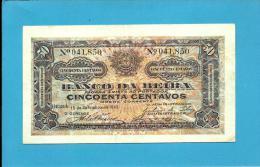 MOZAMBIQUE - 50 Centavos - 15.09.1919 - P R 3b - BANCO DA BEIRA - PORTUGAL - Mozambique