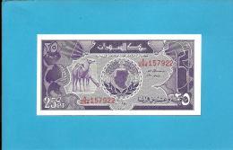 SUDAN - 25 PIASTRES - 1987 - P 37 - UNC. - 2 Scans - Sudan