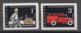 Bulgarien; 1970; Michel 2034/5 **; Feuerwehr - Firemen